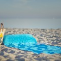 beachrelaxer Strandtuch Strandlaken Sandori Aqua