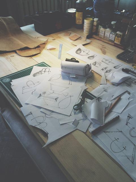 Sandori Design Entwicklung Taschen Zeitlos