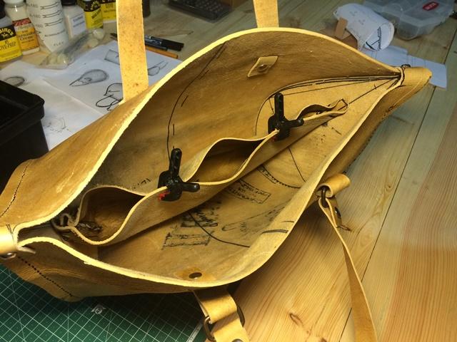 Sandori Herstellung Prototyp Taschen Zeitlos