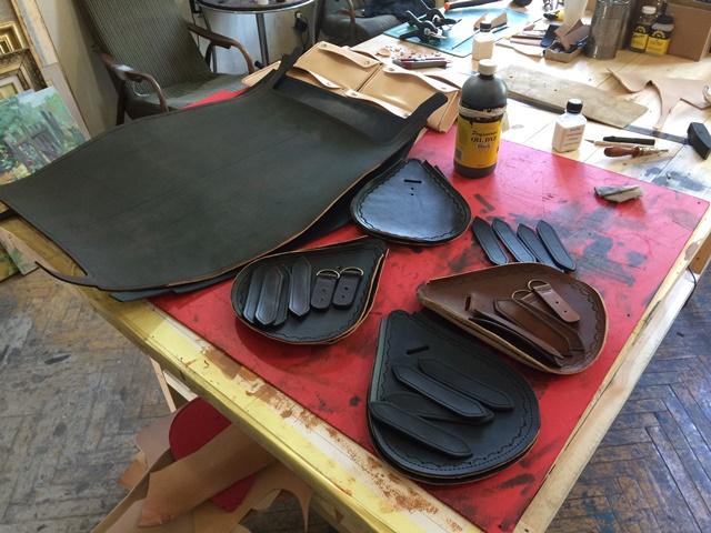 Sandori Leder Details Taschen Zeitlos
