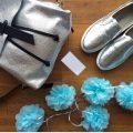 sandori rucksack genarbt silber mit accessoires 960x724