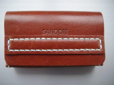 Sandori Visitenkartenetui braun helltürkis glatt 1 (1024x768)