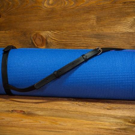 Sandori Yoga Matten Gurt Leder schwarz 1 (1024x680)