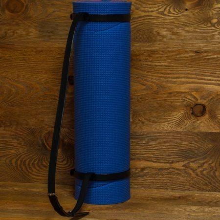 Sandori Yoga Matten Gurt Leder schwarz 2 (1024x680)