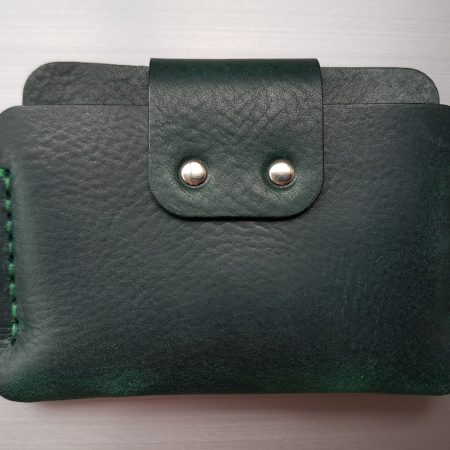 Sandori Portemonnaie mini dunkelgrün grün genarbt 6 (1024x768)