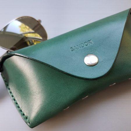 Sandori Brillenetui tannengrün glatt 4 (1024x768)
