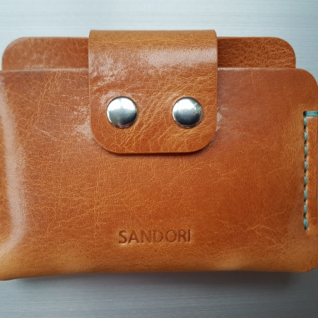 Sandori Portemonnaie mini hellbraun aqua glatt 1 (1024x768)
