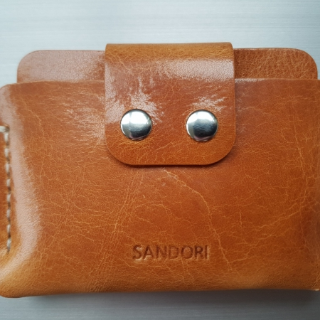 Sandori Portemonnaie mini hellbraun hell glatt1 (1024x768)