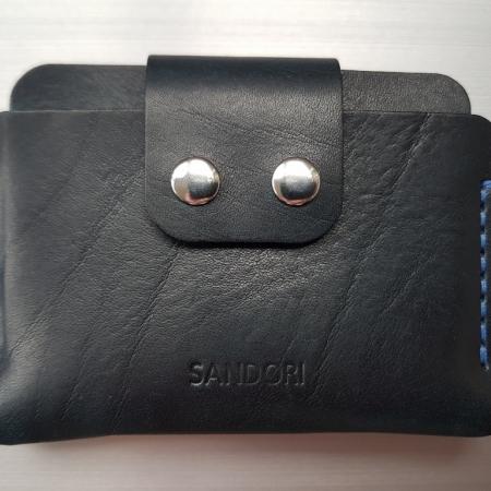 Sandori Portemonnaie mini schwarz blau glatt 1 (1024x768)