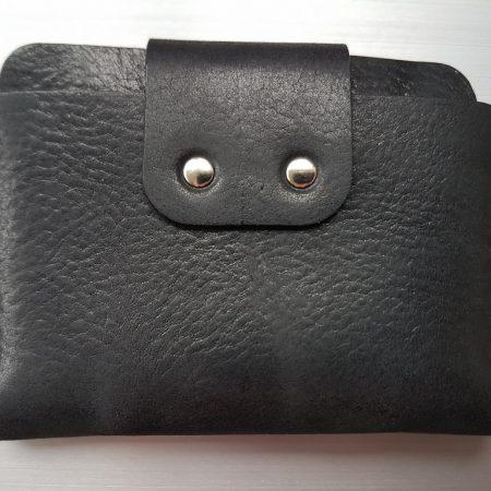 Sandori Portemonnaie mini schwarz cognac genarbt 6 (1024x768)