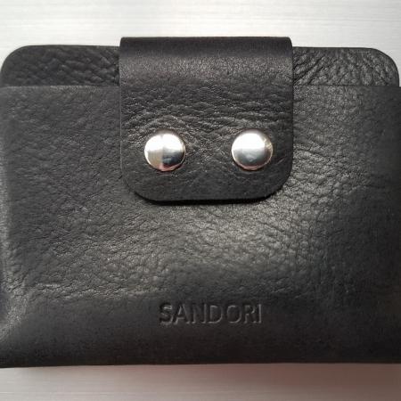 Sandori Portemonnaie mini schwarz violett genarbt 1 (1024x768)